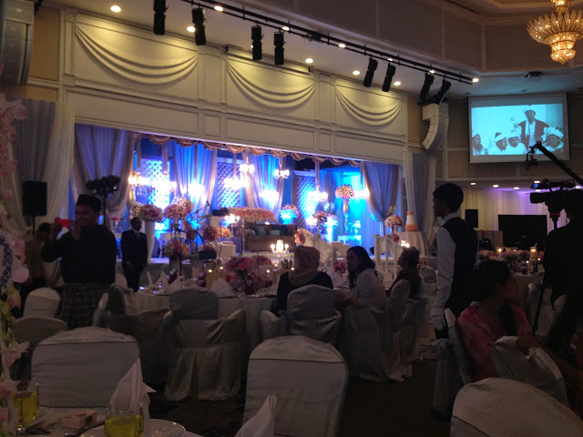 live projection royale chulan damansara wedding