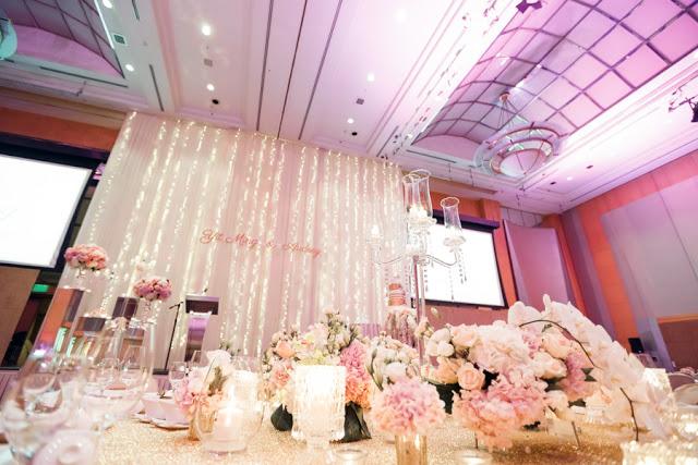 purple pink ceiling KL Sentral hilton