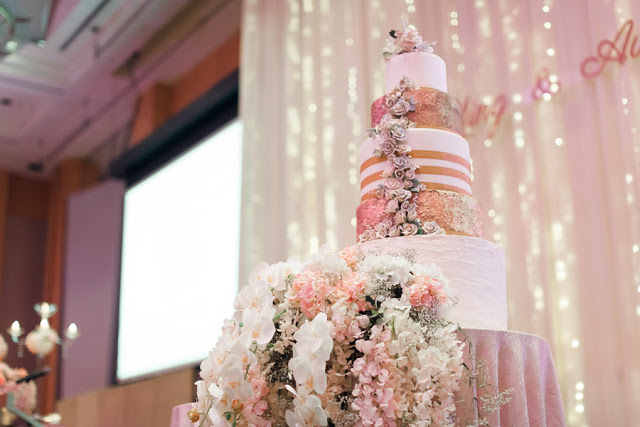 flower cake 5 star hotel wedding KL