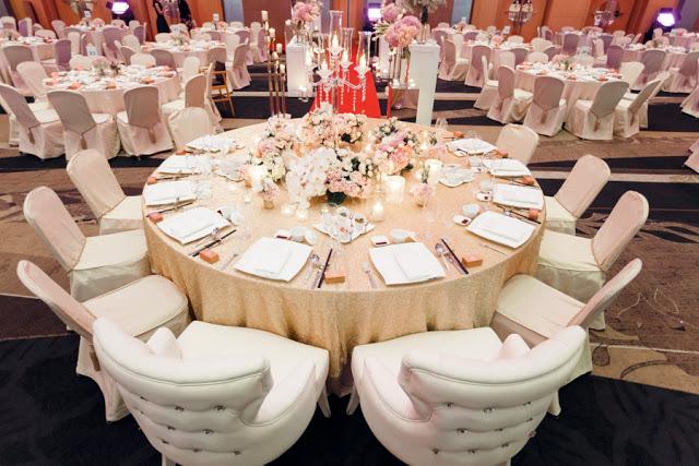 Hilton KL Sentral wedding banquet package
