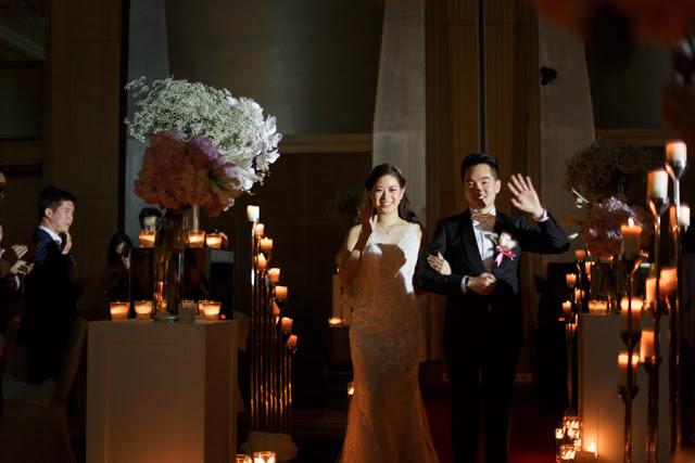 candle walk way wedding march in Malaysia