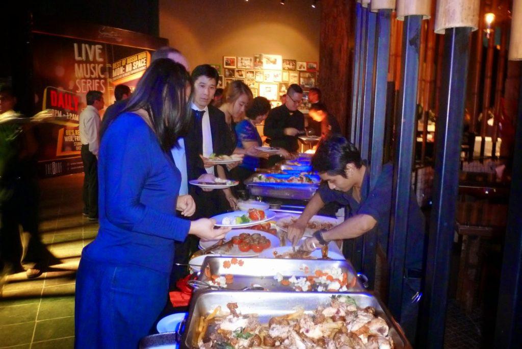 buffet for wedding