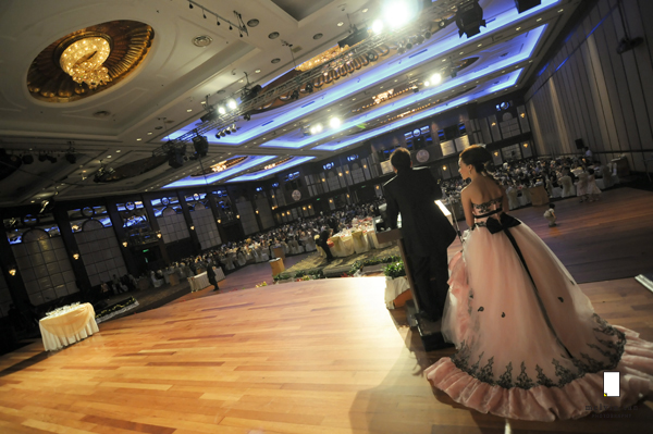 magnificent ballroom sunway resort hotel wedding