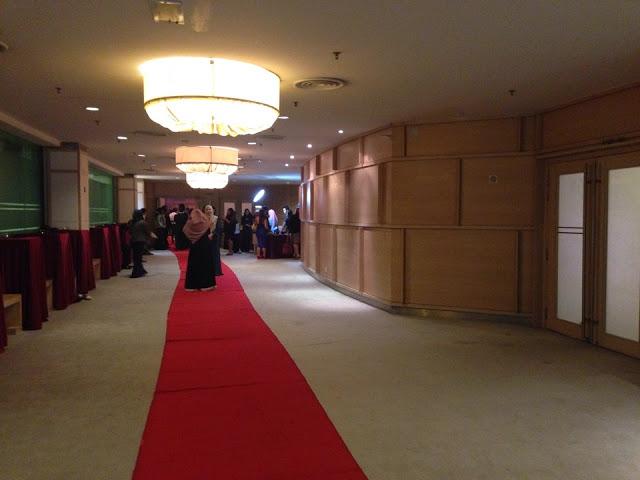 foyer wedding
