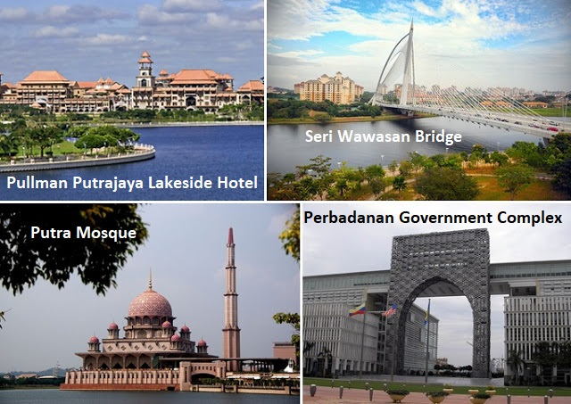 Locations in Putrajaya for wedding photos