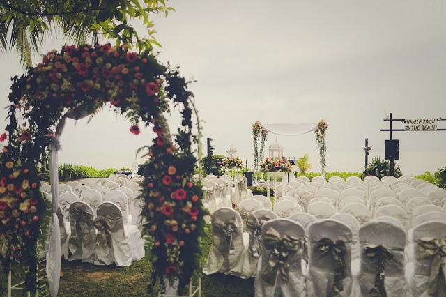 beach resort garden wedding penang Parkroyal hotel