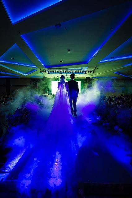 smoky entrance Ixora Penang wedding