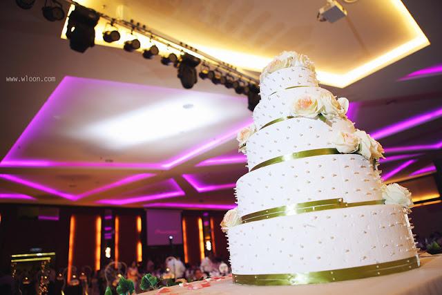 pearl cake Ixora Penang wedding