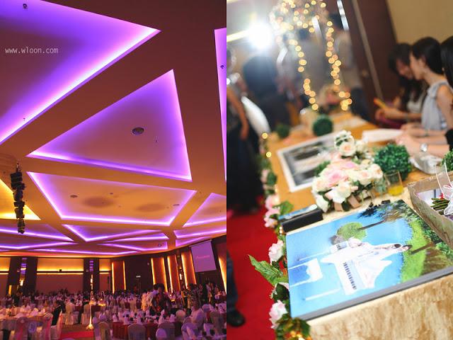 wedding photo view Ixora Penang wedding hotel