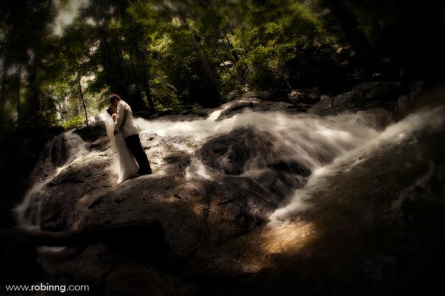 frim waterfalls wedding