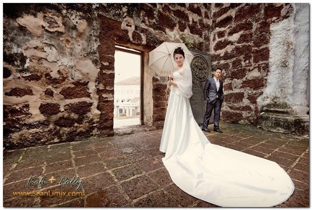 prewedding shot
