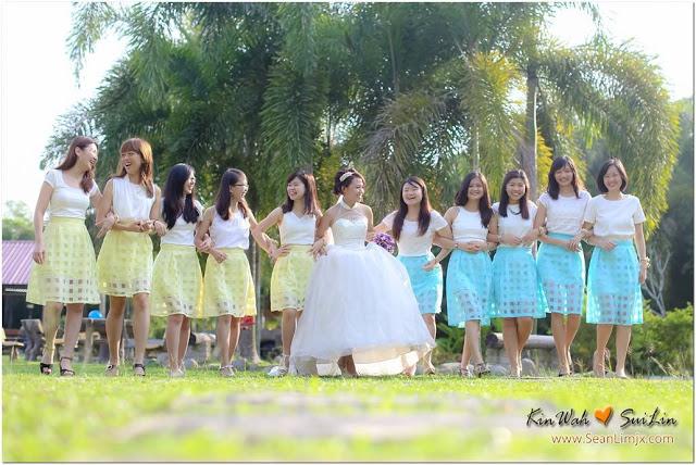 bride team uniform