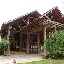 wooden hall