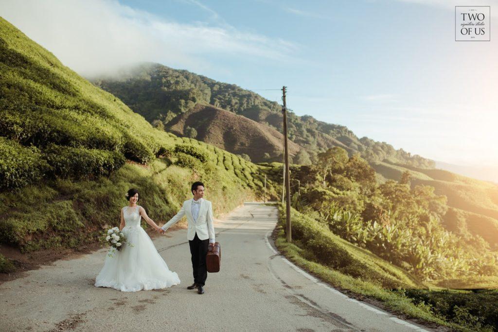 stunning scenery pre-wedding malaysia