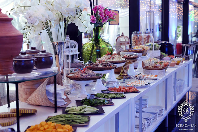 wedding food Malaysia