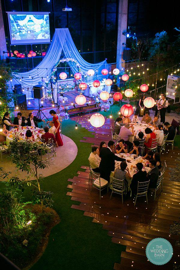 best garden wedding indoor