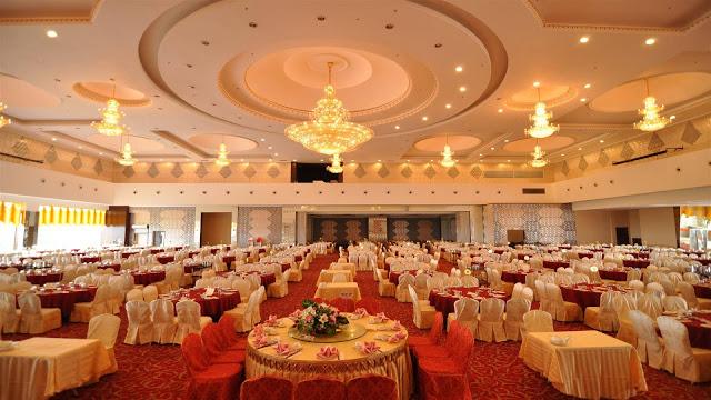 biggest wedding venue for Chinese wedding reception
