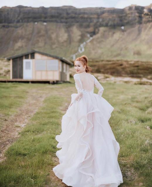 unique design gown