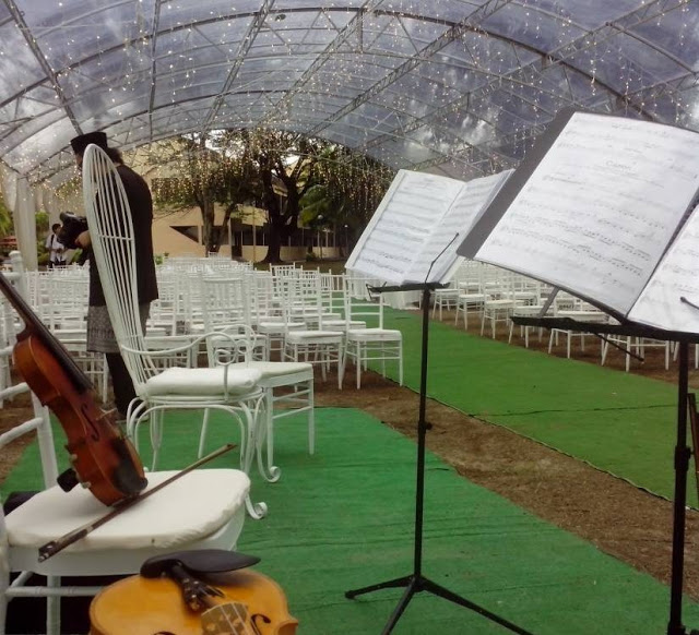 Holiday Villa Cherating wedding garden