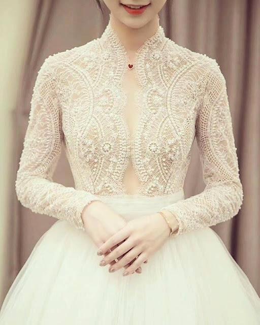 intricate design royal bride Malaysia