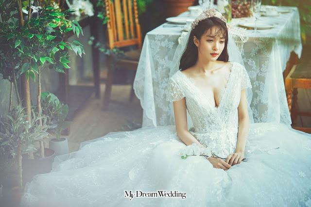 sweet wedding gown kl