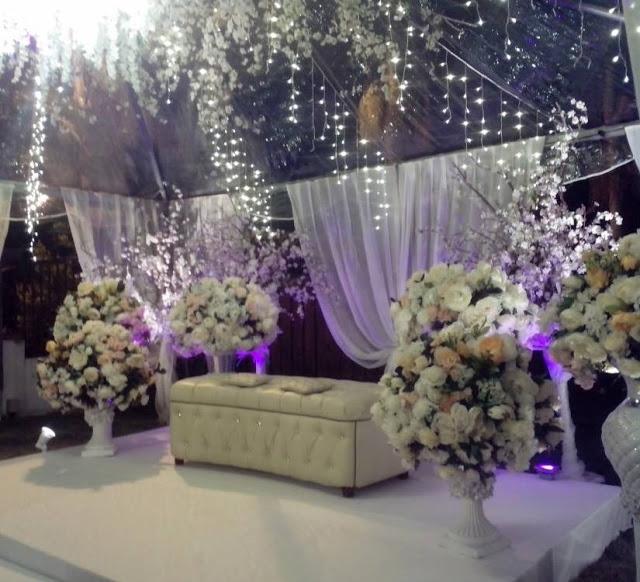 Holiday Villa Cherating wedding pelamin