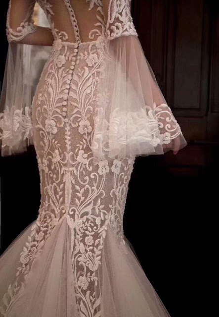 vintage mermaid wedding dress kl