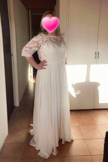custom made bridal gown Malaysia