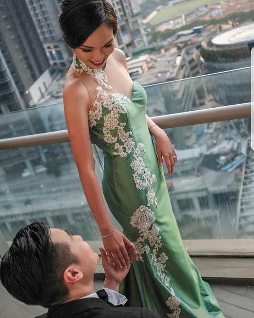 lace cheongsam qipao malaysia