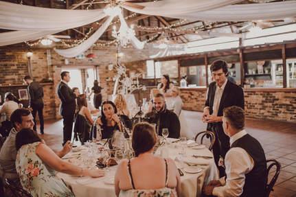 table to table magical wedding Australia