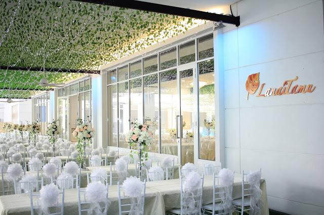 Malay garden wedding lanai tamu