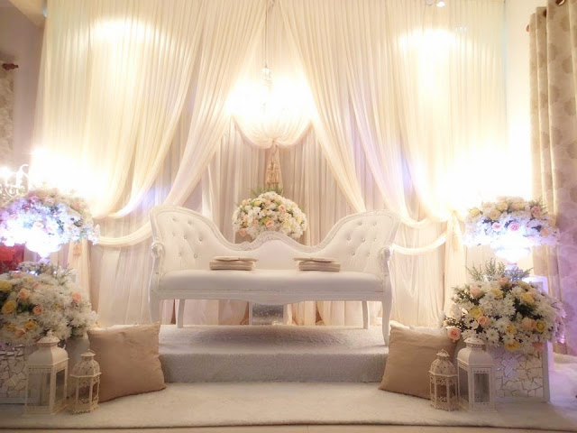 pastel soothing pelamin inspirations