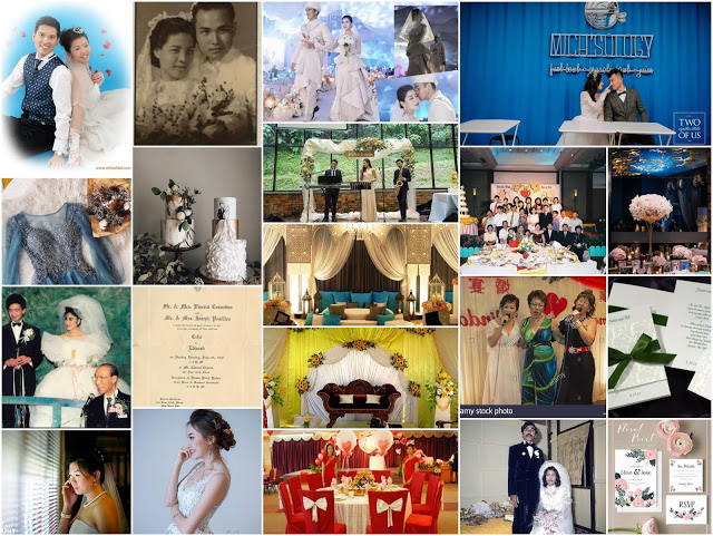 wedding trends through the years