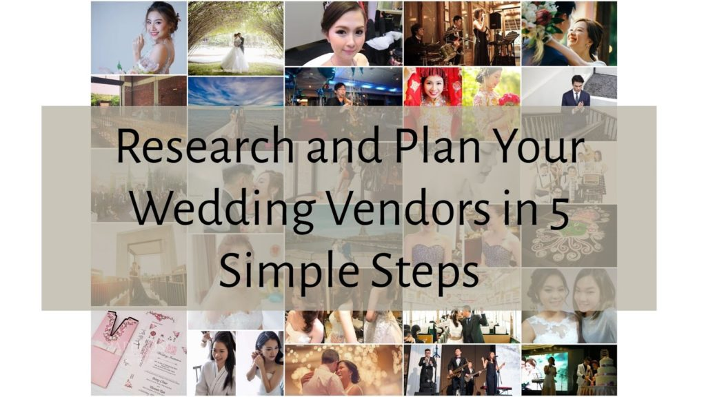 plan your wedding in 5 simple steps