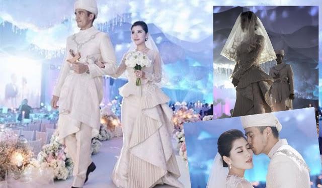 2018 bridal gown trend Malay wedding
