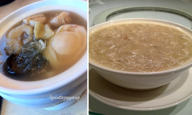 replace shark fin soup with seafood soup