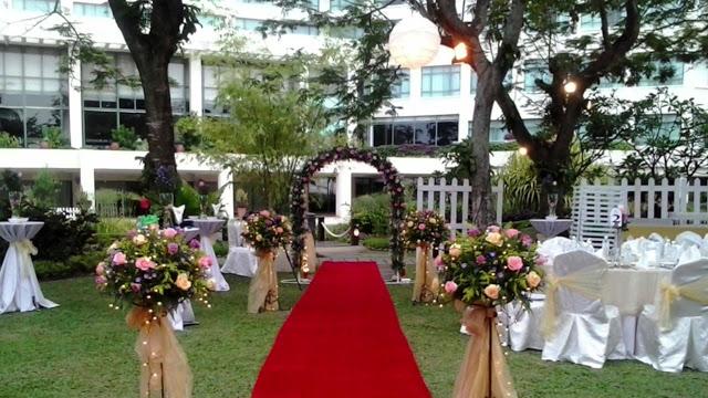 Sutera Harbour Resort KK Sabah garden wedding