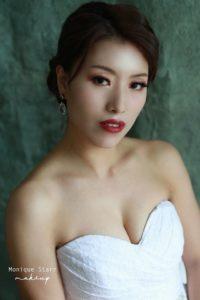 sophisticated bridal makeup KL