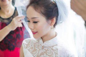 modern bride makeup