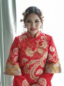 Chinese wedding bridal makeup KL