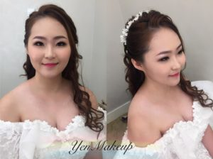 Long hair bride KL