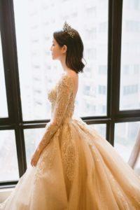 unique gown good quality