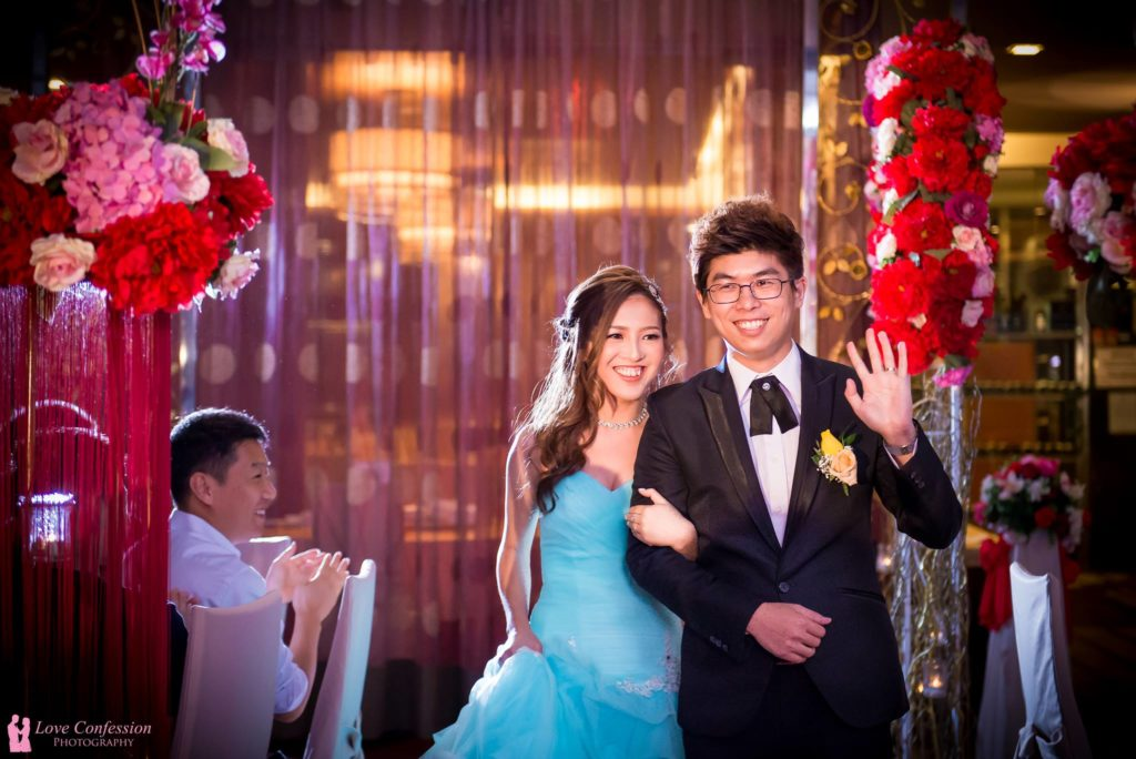 love confession wedding banquet photography Malaysia