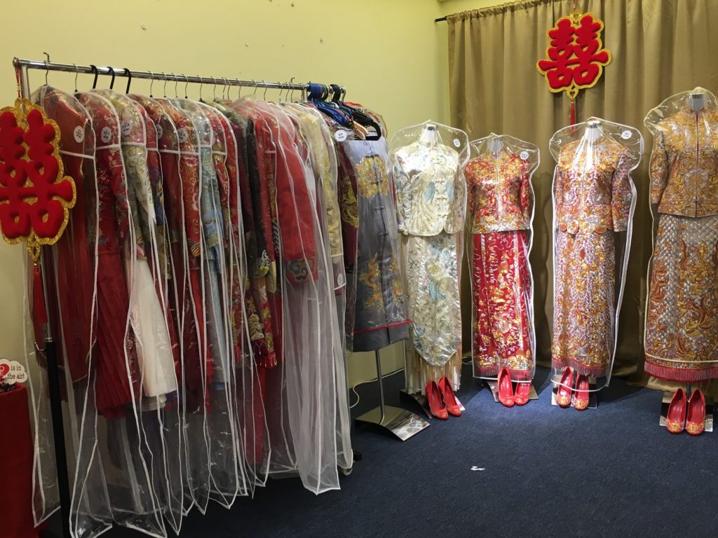 Chinese wedding gown KL