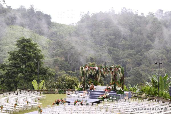 Puncak Rimba garden wedding