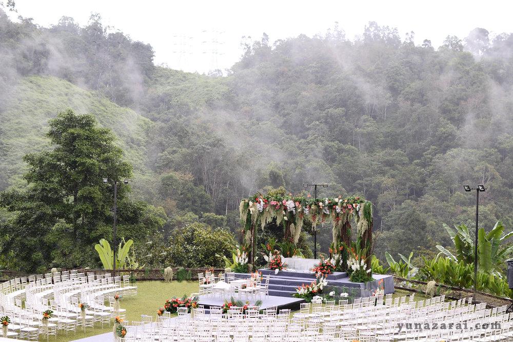 Puncak Rimba garden wedding malaysia venue