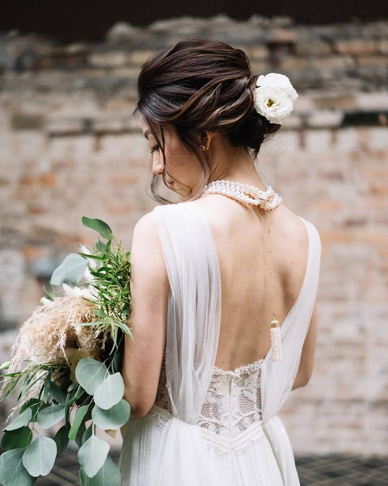 beautiful bride perspective