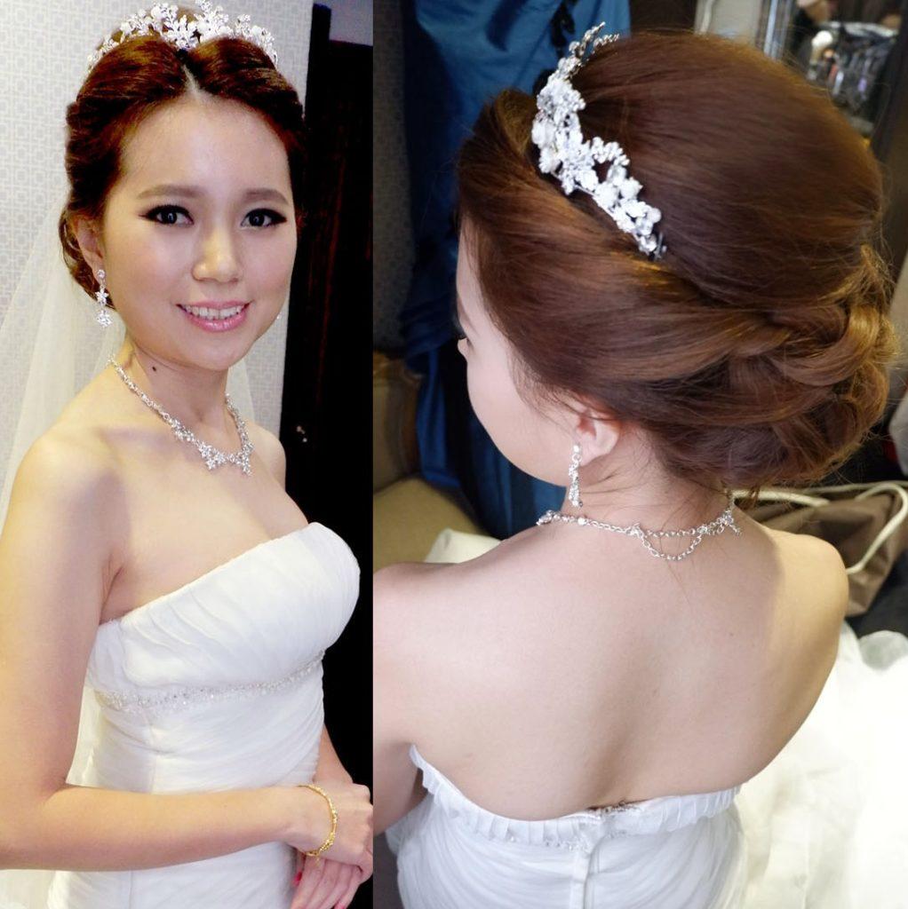 Korean bridal look Malaysia