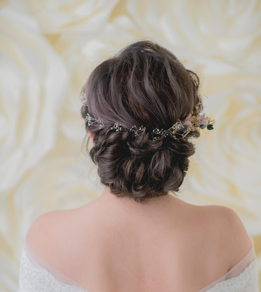 nice hair bridal for ROM wedding
