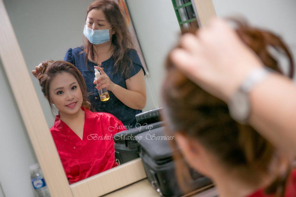 makeup artist SOP mask